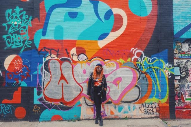 Kaylissim - Angel Are Around Us - Instagram - Brick Lane London Photo